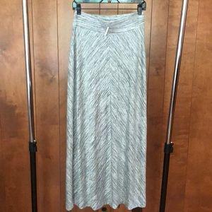 Lou & Grey Spacedye Maxi Skirt NWT Size Small
